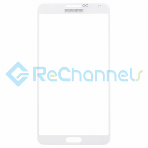 For Samsung Galaxy Note 3 Series Glass Lens Replacement - White - Grade R