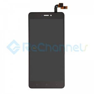 For Xiaomi Redmi Note 4X LCD Screen and Digitizer Assembly Replacement - Black - Grade S+