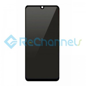 For Xiaomi Redmi Note 7 LCD Screen and Digitizer Assembly with Front Housing Replacement - Black - Grade S+