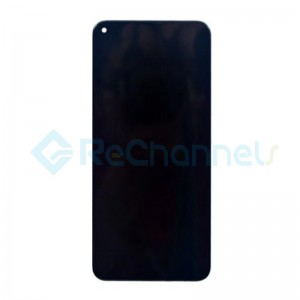 For Huawei Nova 4 LCD Screen and Digitizer Assembly with Front Housing Replacement - Black - Grade S+