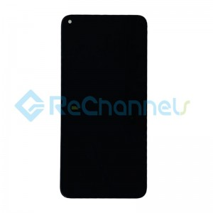 For Huawei Nova 4 LCD Screen and Digitizer Assembly Replacement - Black - Grade S+