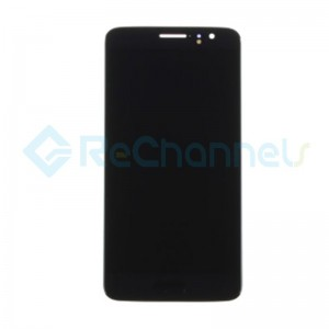 For Huawei Nova Plus LCD Screen and Digitizer Assembly Replacement - Black - Grade S