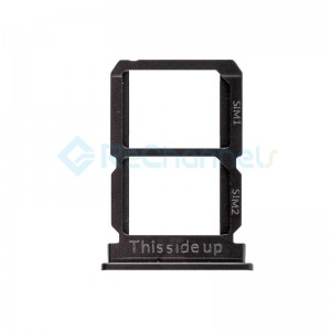 For OnePlus 5 SIM Card Tray Replacement - Black - Grade S+