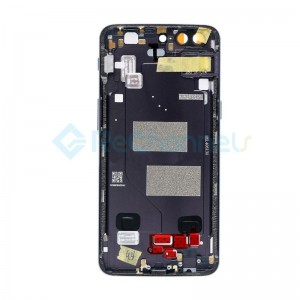 For OnePlus 5 Rear Housing Replacement - Slate Gray - Grade S+