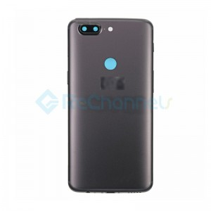 For OnePlus 5T Rear Housing Replacement - Slate Gray - Grade S+