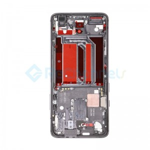For OnePlus 7 Pro Middle Housing Front Bezel Replacement - Gray - Grade S+