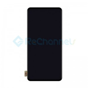 For OPPO Reno LCD Screen and Digitizer Assembly Replacement - Black - Grade S+