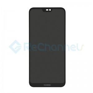 For Huawei P20 Lite LCD Screen and Digitizer Assembly Replacement - Black - Grade S+