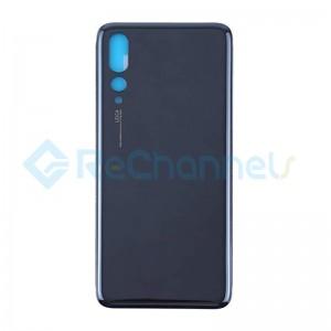 For Huawei P20 Pro Battery Door Replacement - Black - Grade S+