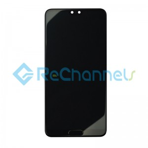 For Huawei P20 Pro LCD Screen and Digitizer Assembly Replacement - Black - Grade S+