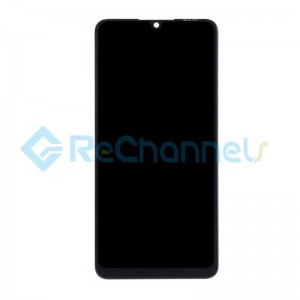 For Huawei P30 Lite LCD Screen and Digitizer Assembly Replacement - Midnight Black - Grade S+ (FHD-T Version)