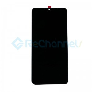 For Huawei P30 Lite LCD Screen and Digitizer Assembly Replacement - Midnight Black - Grade S+(FHD-B Version)