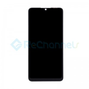 For Huawei P30 Lite LCD Screen and Digitizer Assembly Replacement - Midnight Black - Grade S (FHD-B Version)