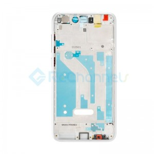 For Huawei P8 Lite Front Housing Replacement - White - Grade S+