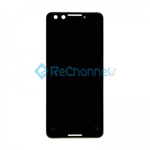 For Google Pixel 3 LCD Screen and Digitizer Assembly Replacement - Black - Grade S