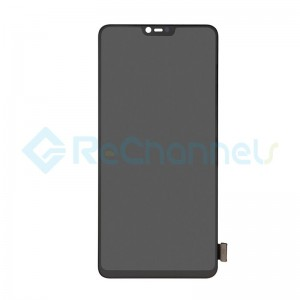 For OPPO R15 Pro LCD Screen and Digitizer Assembly Replacement - Black - Grade S+