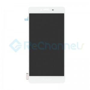 For Oppo R7s LCD Screen and Digitizer Assembly Replacement - White - Grade S+