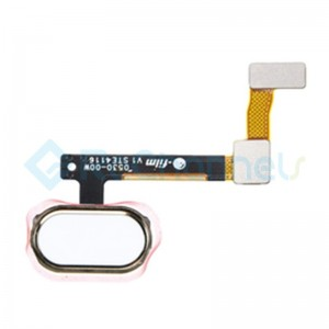 For OPPO R9s Home Button Flex Cable Replacement - Gold - Grade S+