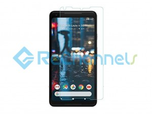 For Google Pixel 2 XL Tempered Glass Screen Protector (Without Package) - Grade R