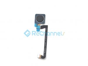 For Google Pixel 3 Fingerprint Flex Cable Ribbon Replacement  -Black - Grade S+