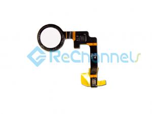 For Google Pixel 2 Fingerprint Flex Cable Ribbon Replacement - White - Grade S+