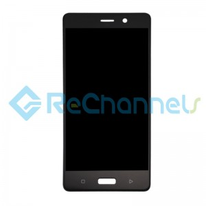 For Nokia 8 LCD Screen and Digitizer Assembly Replacement - Black - With Logo - Grade S+