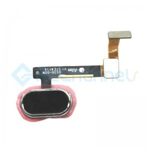 For OPPO R9s Home Button Flex Cable Replacement - Black - Grade S+