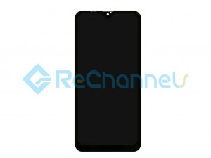 For Samsung Galaxy A10 SM-A105 LCD Screen and Digitizer Assembly Replacement - Black - Grade S
