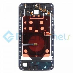 For Motorola Nexus 6 Middle Plate Replacement - Black - Grade S