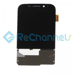 For Blackberry Q20 Classic LCD Screen and Digitizer Assembly Replacement - Black - Grade S