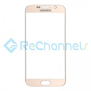 For Samsung Galaxy S6 Glass Lens Replacement - Gold - Grade S+