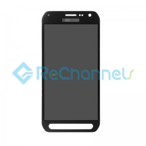 For Samsung Galaxy S6 Active SM-G890A LCD Screen and Digitizer Assembly Replacement - Black - Grade S+