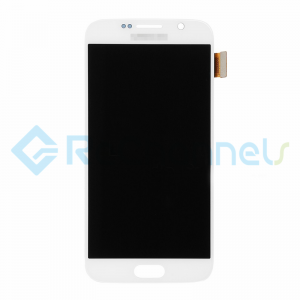For Samsung Galaxy S6 LCD Screen and Digitizer Assembly Replacement - White - Grade S+