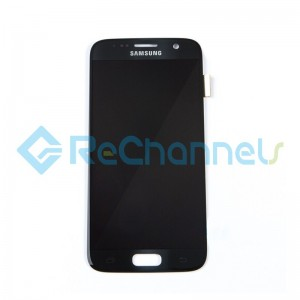 For Samsung Galaxy S7 LCD Screen and Digitizer Assembly Replacement - Black - Grade S