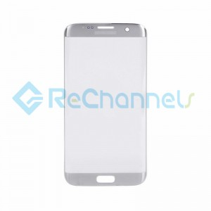 For Samsung Galaxy S7 Edge Glass Lens Replacement - Silver -Grade S+