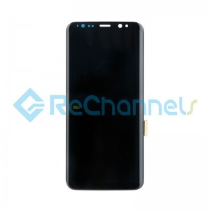 For Samsung Galaxy S8 LCD Screen and Digitizer Assembly Replacement - Black - Grade S+