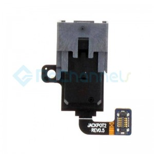 For Samsung Galaxy A8 (2018) SM-A530 Audio Jack Flex Cable with Earbud Connected Replecement - Grade S+