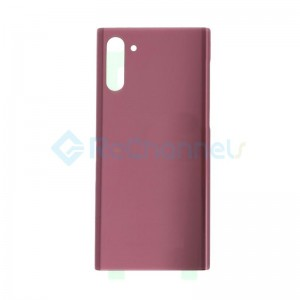 For Samsung Galaxy Note 10 Battery Door Replacement - Aura Pink - Grade S+