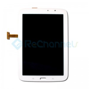 For Samsung Galaxy Note 8 2013-Wi-Fi GT-N5110 LCD Screen and Digitizer Assembly Replacement - White - Grade S+