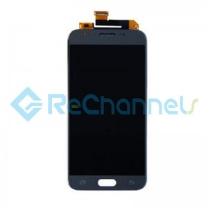 For Samsung Galaxy J3 Prime SM-J327W LCD Screen and Digitizer Assembly Replacement - Gray - Grade S