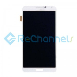 For Samsung Galaxy Note 3 LCD Screen and Digitizer Assembly Replacement - White - Grade S