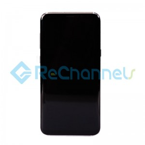 For Samsung Galaxy S8 Plus LCD Screen and Digitizer Assembly Replacement - Black - Grade S