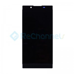 For Sony Xperia L1 LCD Screen and Digitizer Assembly Replacement with Front Housing - Black - Grade S