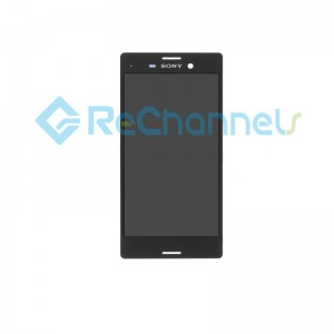 For Sony Xperia M4 Aqua LCD Screen and Digitizer Assembly Replacement - Black - Grade S