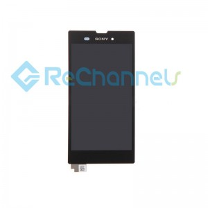 For Sony Xperia T3 LCD Screen and Digitizer Assembly Replacement - Black - Grade S+