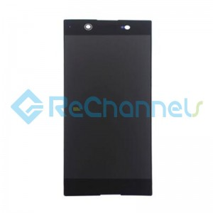 For Sony Xperia XA1 Ultra LCD Screen and Digitizer Assembly Replacement - Black - Grade S+ (Model GC3223)