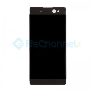 For Sony Xperia XA Ultra LCD Screen and Digitizer Assembly with Front Housing Replacement - Black - Grade S+