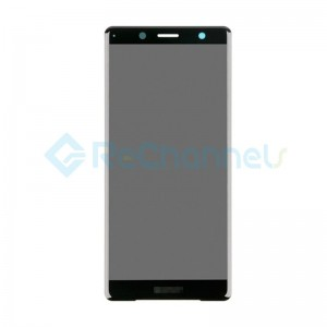 For Sony Xperia XZ2 Compact LCD Screen and Digitizer Assembly Replacement - Black - Grade S+
