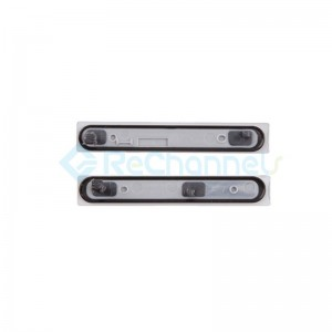 For Sony Xperia Z3 Compact Card Slot and USB Cover Replacement (2 pcs/set) - Black - Grade S+
