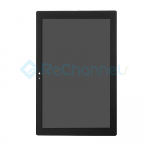 For Sony Xperia Z4 Tablet SPG771/SPG712 LCD Screen and Digitizer Assembly Replacement - Black - Grade S+